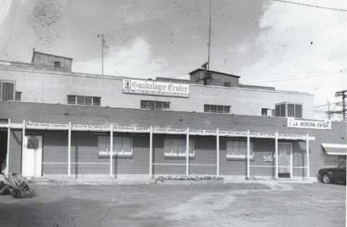 Courtesy     Catholic Diocese of Salt Lake City  Outside view of the Guadalupe Center, where La Morena cafe was housed.