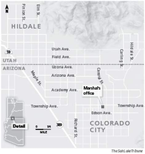 Colorado City Utah Map.A Polygamous Community S Cop Is Spilling Its Secrets The Salt Lake