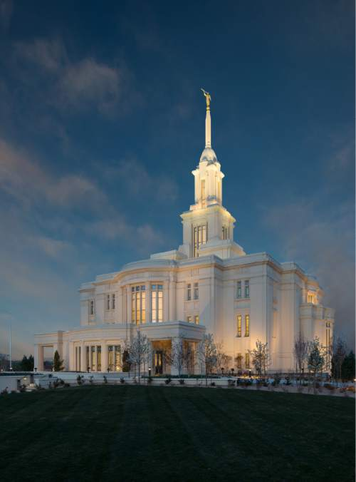 The Payson Utah Temple © 2015 by Intellectual Reserve, Inc. All rights reserved.