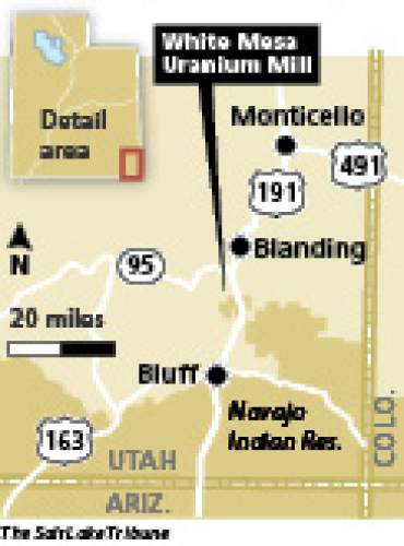 Elevated threat Radon emissions from evaporation ponds at a southeast Utah uranium mill could exceed federal thresholds designed to protect the environment from the odorless, cancer-causing gas, say environmental groups.