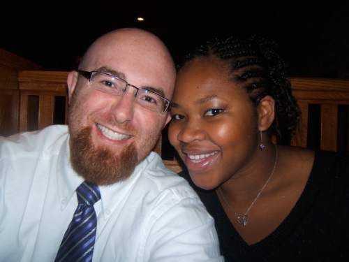 (Courtesy  |  Brian Dawson)  Brian Dawson and his wife, Ezinne Dawson.