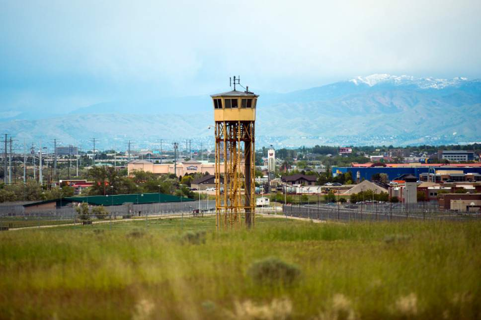 Chris Detrick  |  The Salt Lake Tribune The Utah State Prison will be moved from its Draper location, shown here on May 21, 2015.