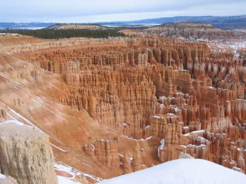 April 22, 2004 - Inspiration Point Bryce Canyon National Park
