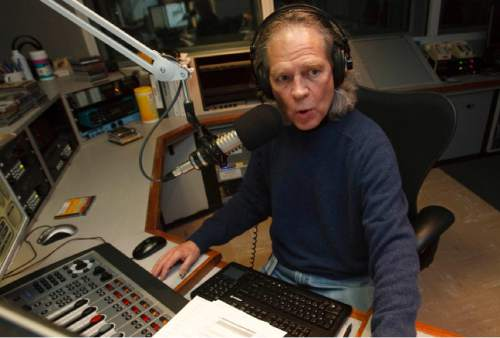 Leah Hogsten  |  The Salt Lake Tribune Steve Williams, the music director and host of public-radio station KUERís jazz programming since 1984, will be retiring from the University of Utah next month. In this 2010 file photo,  Williams is pictured in the KUER studios.