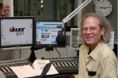 Steve Williams, host of KUER's nighttime jazz programming, will retire in June. Courtesy KUER