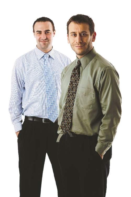 Thomas Burr and Matt Canham
