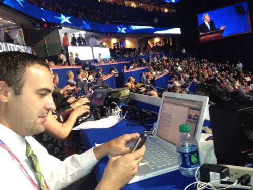Tommy Burr at the RNC.