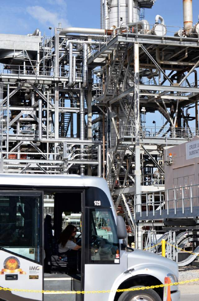 Courtesy photo On Saturday, more than 750 residents from all over the Wasatch Front toured Chevron's Salt Lake City Refinery, which is usually off limits to the public.