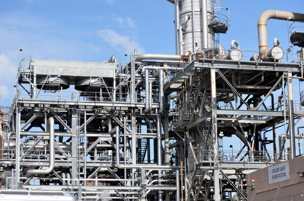 On Saturday, more than 750 residents from all over the Wasatch Front toured Chevron's Salt Lake City Refinery, which is usually off limits to the public.  Courtesy photo