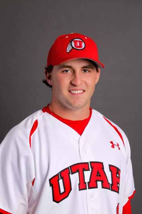 Bret Helton, Utah Baseball November 12, 2013 in Salt Lake City, Utah (Photo/Steve C. Wilson)