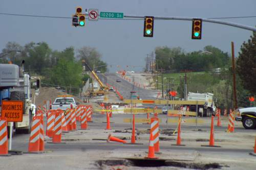 (File photo courtesy of UDOT) Sandy city is among the more than 50 Utah cities that have adopted or are considering adopting resolutions pushing to have a sales-tax increase on the November ballot to fund road and transit improvements.