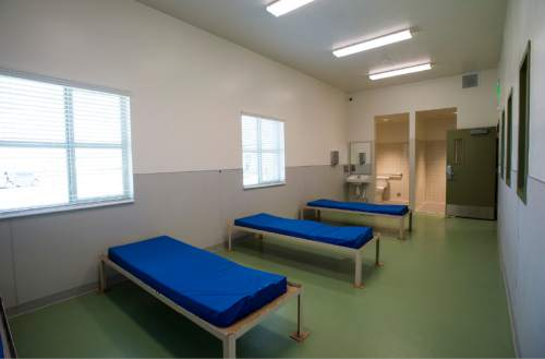 Rick Egan     The Salt Lake Tribune  The women's diversion room in the new Lantern House homeless shelter in Ogden, Tuesday, June 16, 2015.