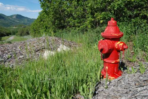 Brian Maffly  |  The Salt Lake Tribune  A fire hydrant sits far from any homes high in Emigration Canyon. In a federal lawsuit unsealed last week, a canyon resident alleges the district has misused federal funds by building pipelines, a reservoir and wells under false pretenses.