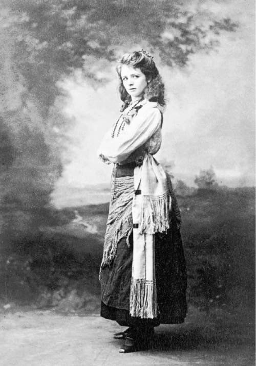 Courtesy     Library of Congress  Actress Maude Adams, circa 1898.