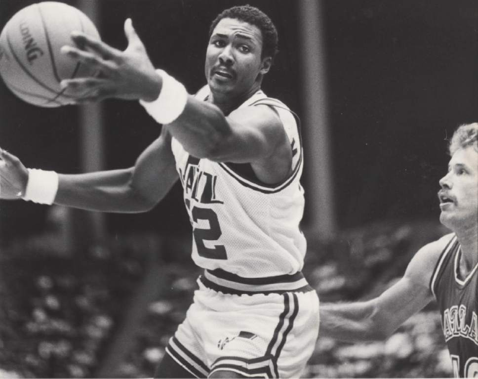 How did Karl Malone fall to the Jazz in the 1985 draft ...