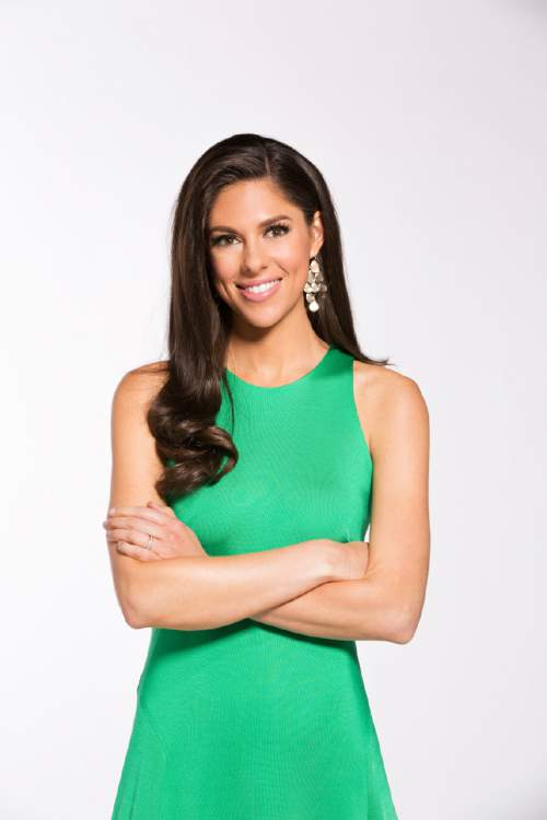 "|  Courtesy MSNBC  Abby Huntsman is one of the four hosts of ""The Cycle."""