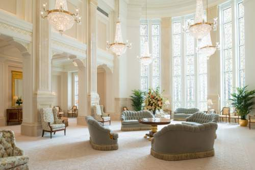 The Celestial room in the Payson Utah Temple .© 2015 by Intellectual Reserve, Inc. All rights reserved.