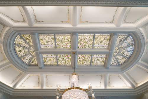 A skylight in one of the sealing rooms of the Payson Utah Temple. © 2015 by Intellectual Reserve, Inc. All rights reserved.