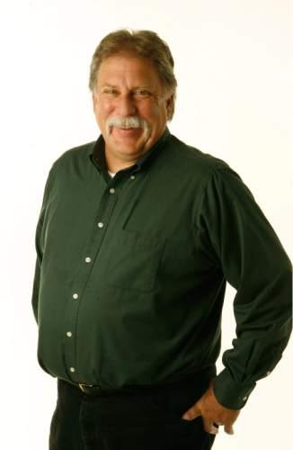 Robert Kirby. Tribune Mugs. Photo by Francisco Kjolseth/The Salt Lake Tribune 8/03/2006