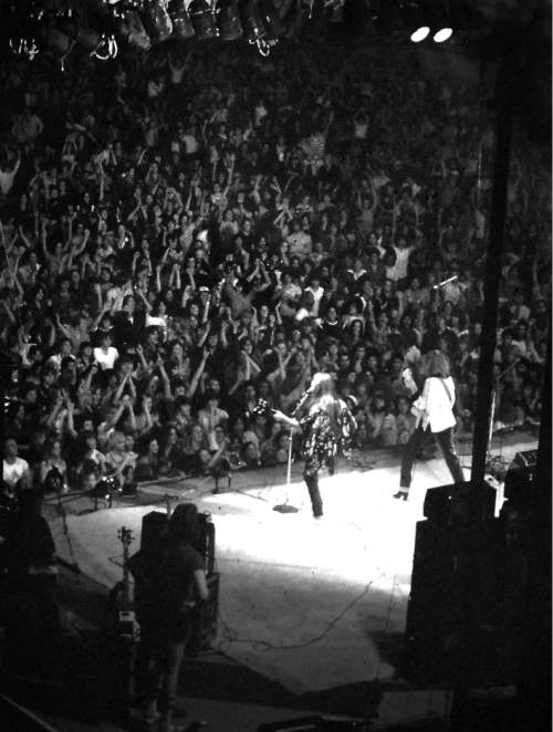 Rick Egan  |  The Salt Lake Tribune  Rush performs at The Salt Palace on May 17, 1978.