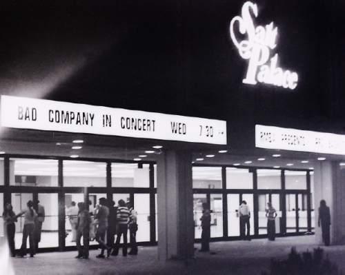 Rick Egan  |  The Salt Lake Tribune  Fans enter The Salt Palace for a Bad Company concert in 1977.