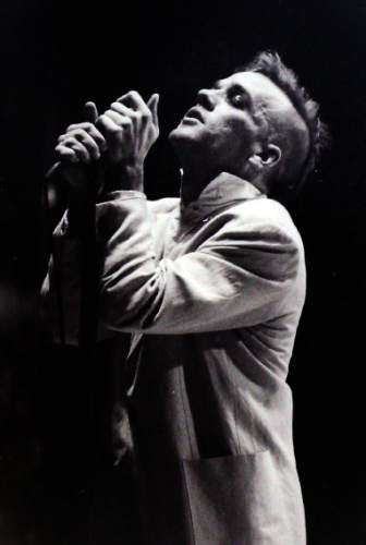 Rick Egan  |  The Salt Lake Tribune  Michael Stipe, of R.E.M., performs at The Salt Palace during the band's Green Tour in October 1989.