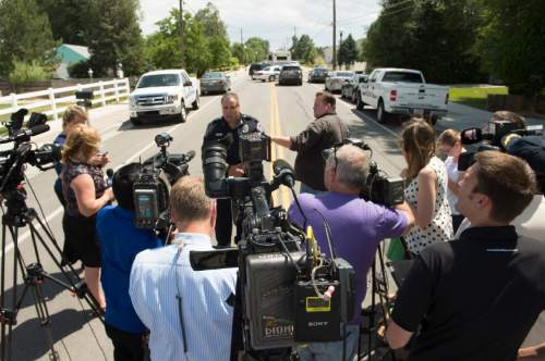 Rick Egan  |  The Salt Lake Tribune  West Valley City Police Chief Lee Russo answers questions from the media about a 15-year-old boy they have in custody as a suspect in connection with the death of a 12-year-old girl he identified the victim as Kayley Vijil, whose body was found in a field in West Valley City, Friday, July 17, 2015.