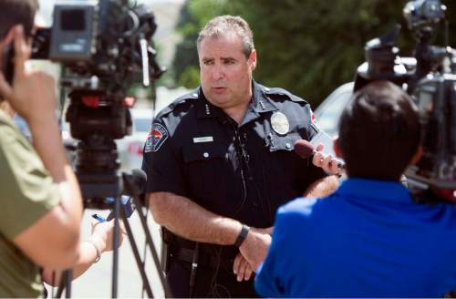 Rick Egan  |  The Salt Lake Tribune West Valley City Police Chief Lee Russo answers questions from the media about a 15-year-old boy they have in custody as a suspect in connection with the death of a 12-year-old girl he identified the victim as Kayley Vijil, whose body was found in a field in West Valley City on Friday.