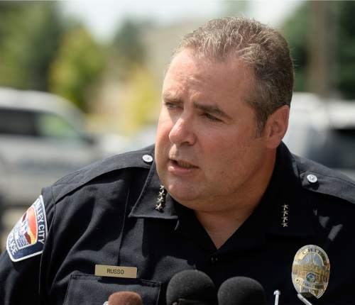 Al Hartmann  |  The Salt Lake Tribune At noon Friday July 17 West Valley Police Chief Lee Russo said that a person of interest has been taken in for questioning for the body of 12-year-old girl found in a nearby horse pasture near 5200 W. 3600 S.