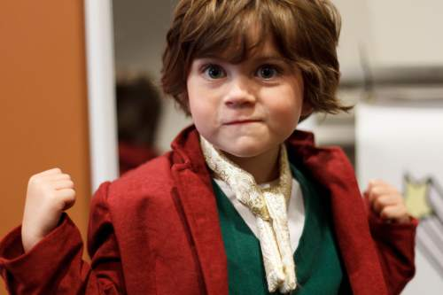 Trent Nelson  |  The Salt Lake Tribune Jack Peterson as Frodo at Salt Lake Comic Con in Salt Lake City Saturday, September 7, 2013.