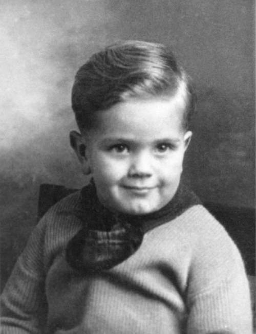 Courtesy  |  LDS Church  Boyd K. Packer at age 3.