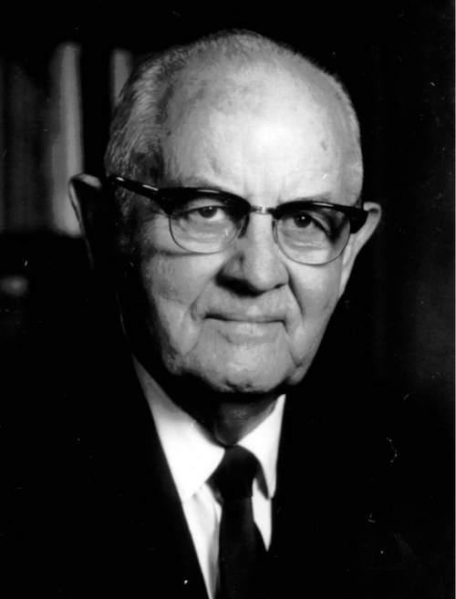 Fomer LDS Church President Spencer W. Kimball.  Tribune File Photo