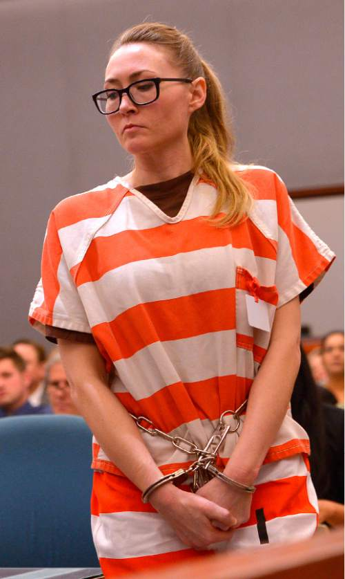 Leah Hogsten  |  The Salt Lake Tribune Brianne Altice was sentenced to up to 30 years, Thursday, July 9, 2015 in Judge Thomas L. Kay's Second District Courtroom.  Altice, a former Davis High school teacher had sexual relationships with three of her students.