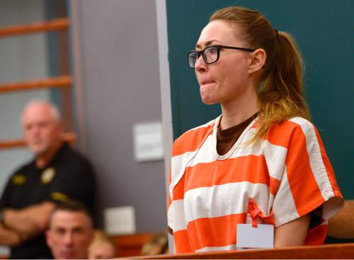 Leah Hogsten  |  The Salt Lake Tribune Brianne Altice enters Judge Kay's courtroom. Altice was sentenced to up to 30 years, Thursday, July 9, 2015 in Judge Thomas L. Kay's Second District Courtroom.  Altice, a former Davis High school teacher had sexual relationships with three of her students.