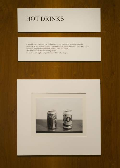 Photo courtesy Katie Liechty   The photo exhibit of a BYU photography student was partially removed by an unknown viewer after the artist attempted to portray a sacred topic: Heavenly Mother. Photo taken July 23, 2015.