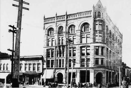 A Look Back Historic Downtown Ogden The Salt Lake Tribune