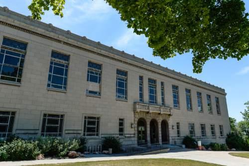 Francisco Kjolseth | Tribune file photo  The George Thomas Building on the University of Utah campus.
