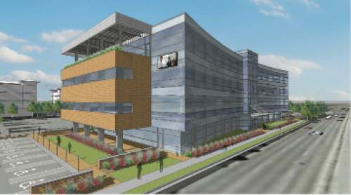 |  Courtesy   Renderings of a Granger Medical West Valley building going up in West Valley City.