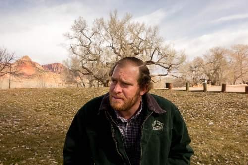 Trent Nelson  |  The Salt Lake Tribune Matthew Barlow, Colorado City, Thursday February 26, 2015.