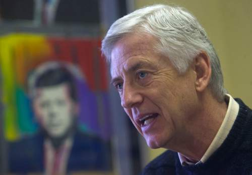 Al Hartmann  |  Tribune file photo Rocky Anderson, former Salt Lake City mayor, plans to file claims of privacy invasion against the NSA, FBI and Department of Justice.