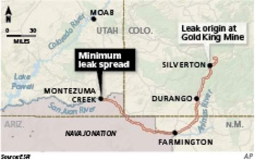How the Colorado River mine sludge impacts Utah  The Salt Lake