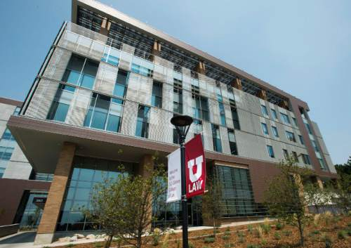 Steve Griffin  |  The Salt Lake Tribune The University of Utah will celebrate the grand opening of its new $62.5 million College of Law building next week.