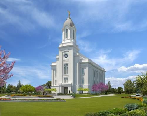 Courtesy | Intellectual Reserve, Inc.   Rendering of the Cedar City Utah Temple.