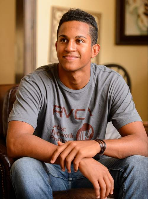 Trent Nelson  |  The Salt Lake Tribune Lone Peak guard Frank Jackson is the best high school basketball player in the state and one of the top-20 recruits in the nation (ranked 14th overall by ESPN). As the summer before his senior season winds down, Jackson is weighing his many options and will soon pick from a list of schools that includes Duke, Stanford, Utah and BYU. Jackson was photographed at his home in Highland, Wednesday August 26, 2015.