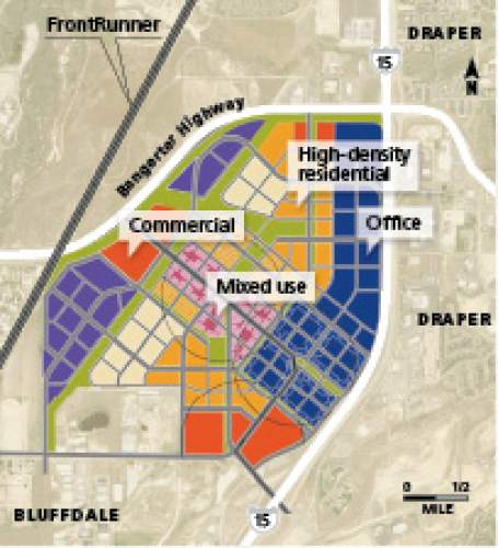 Draper vision Moving of the Utah State Prison would give Draper prime developable land accessible by highways on the north and east.