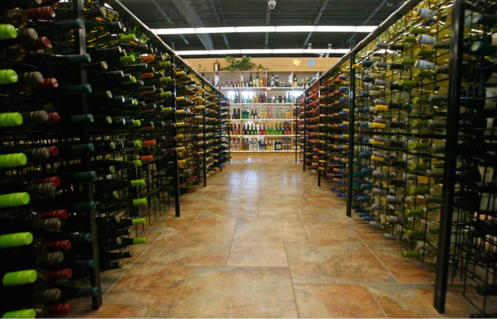 Rick Egan  | Tribune file photo  Liquor for sale at the Utah State Liquor Store in Bountiful, Utah,