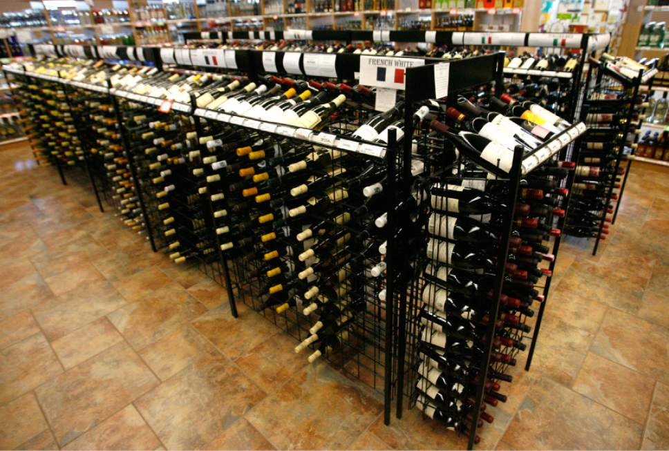 Tribune file photo The Utah State Liquor Store in Bountiful.