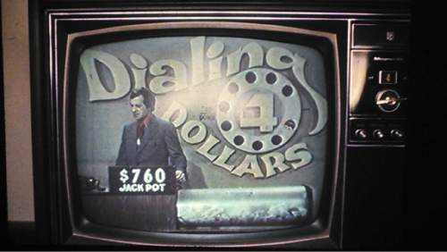 |  Courtesy photo   Former KCPX and KNAK DJ Lynn Lehmann also hosted the television show Dialing for Dollars.