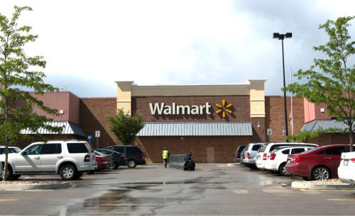 Rick Egan  |  The Salt Lake Tribune  The Wal-Mart on State Road 73 in Saratoga Springs, Wednesday, July 22, 2015.