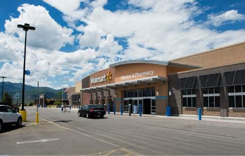 Rick Egan  |  The Salt Lake Tribune  The Wal-Mart on US highway 189 in Heber City, Wednesday, July 22, 2015.